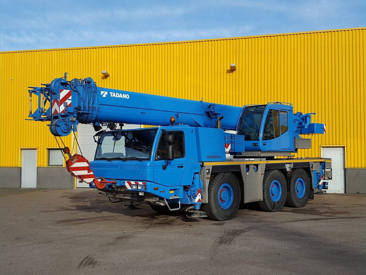 Faun ATF 50G-3 (with flyjib). 50 ton ...